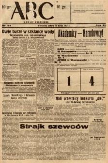 ABC : nowiny codzienne. 1937, nr84