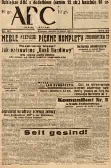 ABC : nowiny codzienne. 1937, nr85