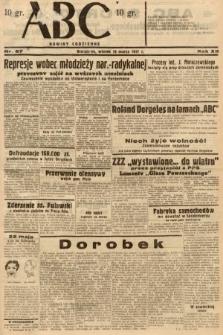 ABC : nowiny codzienne. 1937, nr87