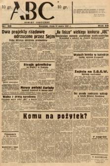ABC : nowiny codzienne. 1937, nr88