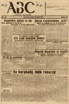ABC : nowiny codzienne. 1937, nr91