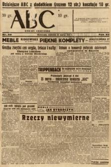 ABC : nowiny codzienne. 1937, nr92