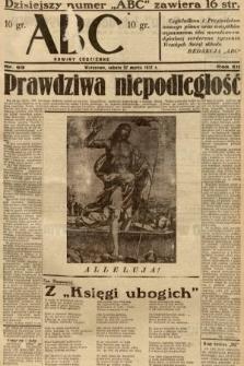 ABC : nowiny codzienne. 1937, nr99