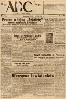 ABC : nowiny codzienne. 1937, nr107 [ocenzurowany]