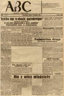 ABC : nowiny codzienne. 1937, nr109 [ocenzurowany]