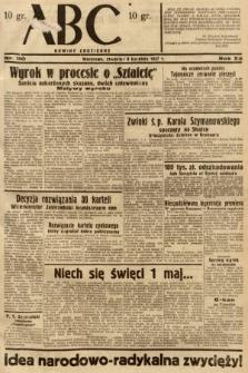 ABC : nowiny codzienne. 1937, nr110