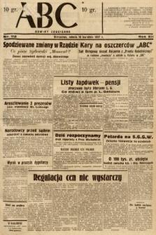ABC : nowiny codzienne. 1937, nr112