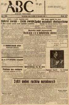 ABC : nowiny codzienne. 1937, nr114