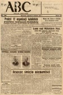 ABC : nowiny codzienne. 1937, nr118