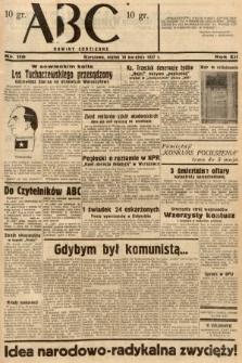 ABC : nowiny codzienne. 1937, nr119