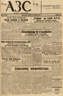 ABC : nowiny codzienne. 1937, nr120