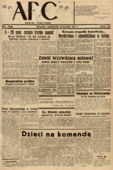 ABC : nowiny codzienne. 1937, nr122