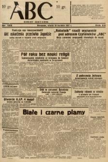 ABC : nowiny codzienne. 1937, nr123