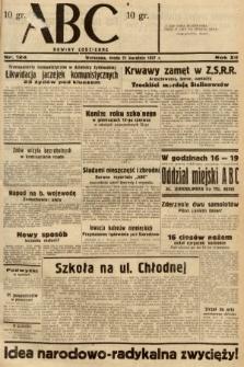 ABC : nowiny codzienne. 1937, nr124