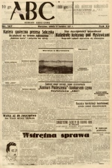 ABC : nowiny codzienne. 1937, nr127