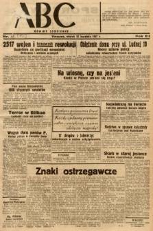 ABC : nowiny codzienne. 1937, nr132