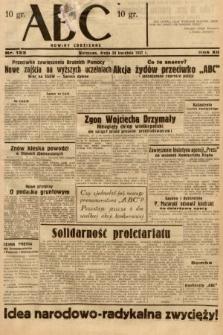 ABC : nowiny codzienne. 1937, nr133