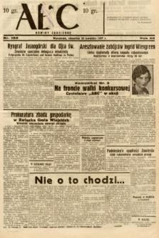 ABC : nowiny codzienne. 1937, nr134