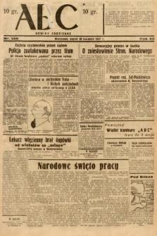 ABC : nowiny codzienne. 1937, nr135