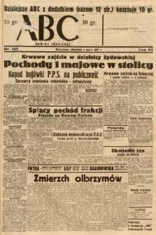 ABC : nowiny codzienne. 1937, nr137