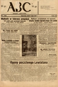 ABC : nowiny codzienne. 1937, nr142