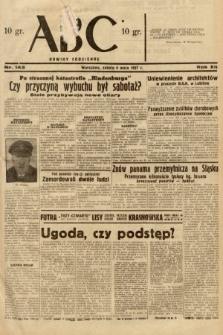 ABC : nowiny codzienne. 1937, nr143