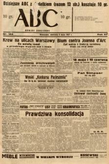 ABC : nowiny codzienne. 1937, nr144 [ocenzurowany]