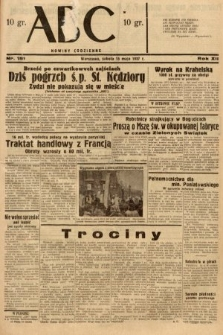 ABC : nowiny codzienne. 1937, nr151
