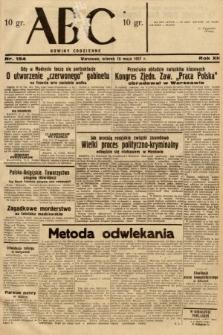 ABC : nowiny codzienne. 1937, nr154