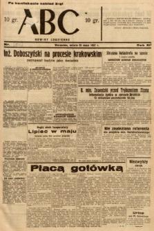 ABC : nowiny codzienne. 1937, nr160 [ocenzurowany]
