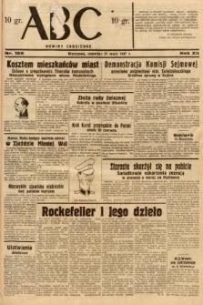 ABC : nowiny codzienne. 1937, nr165