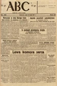 ABC : nowiny codzienne. 1937, nr166