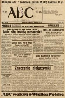 ABC : nowiny codzienne. 1937, nr168