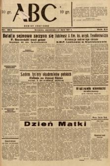 ABC : nowiny codzienne. 1937, nr169