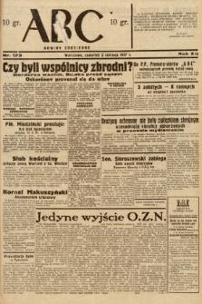 ABC : nowiny codzienne. 1937, nr173