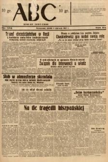 ABC : nowiny codzienne. 1937, nr174