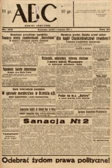 ABC : nowiny codzienne. 1937, nr175