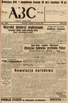 ABC : nowiny codzienne. 1937, nr183
