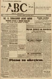 ABC : nowiny codzienne. 1937, nr186 [ocenzurowany]