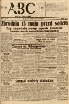 ABC : nowiny codzienne. 1937, nr187