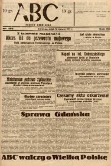 ABC : nowiny codzienne. 1937, nr189