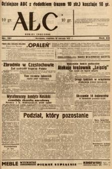 ABC : nowiny codzienne. 1937, nr191