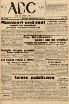 ABC : nowiny codzienne. 1937, nr196