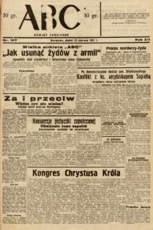 ABC : nowiny codzienne. 1937, nr197
