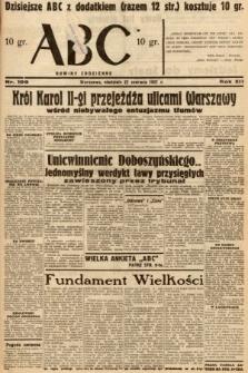 ABC : nowiny codzienne. 1937, nr199