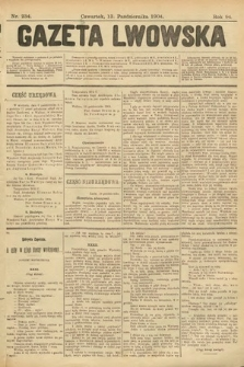 Gazeta Lwowska. 1904, nr234