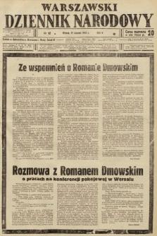 Warszawski Dziennik Narodowy. 1939, nr17 B