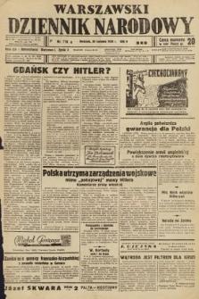 Warszawski Dziennik Narodowy. 1939, nr118 B