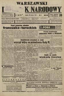 Warszawski Dziennik Narodowy. 1939, nr172 A