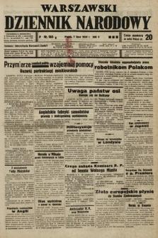 Warszawski Dziennik Narodowy. 1939, nr185 B